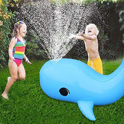 Control remoto automóvil, niños control remoto coche niños al aire libre agua aerosol juguete juguete tocando agua dolphin sprinkler mat de diversión verano aerosol inflable espolvorear agua almohadil