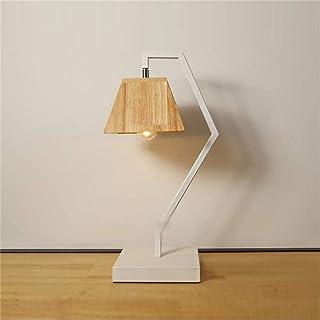 Lampes de Bureau Moderne Minimaliste Lampe Bois créatif Chaud Chambre Lampe de Chevet Lecture Bureau étude Lampes Nordiques