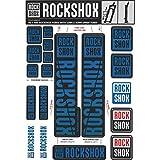 RockShox Pegatinas de 30forwardslash32mm y RS1SID/Reba/Revelation ( 2018) Sector/Recon/X32/30g/30S/XC30, 11.4318.003.502Piezas de Repuesto, Azul, Estándar