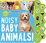 Best Books For Babies Animal Sounds - Discovery: Noisy Baby Animals! (10-Button Sound Books) Review