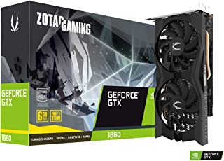 ZOTAC Gaming GeForce GTX 1660 Ventilador Doble