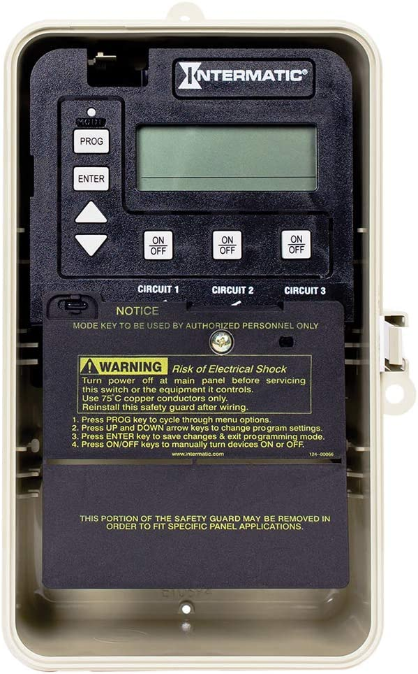 Intermatic PE153PF Three Great interest wholesale Circuit Digital with Time Freeze Switch