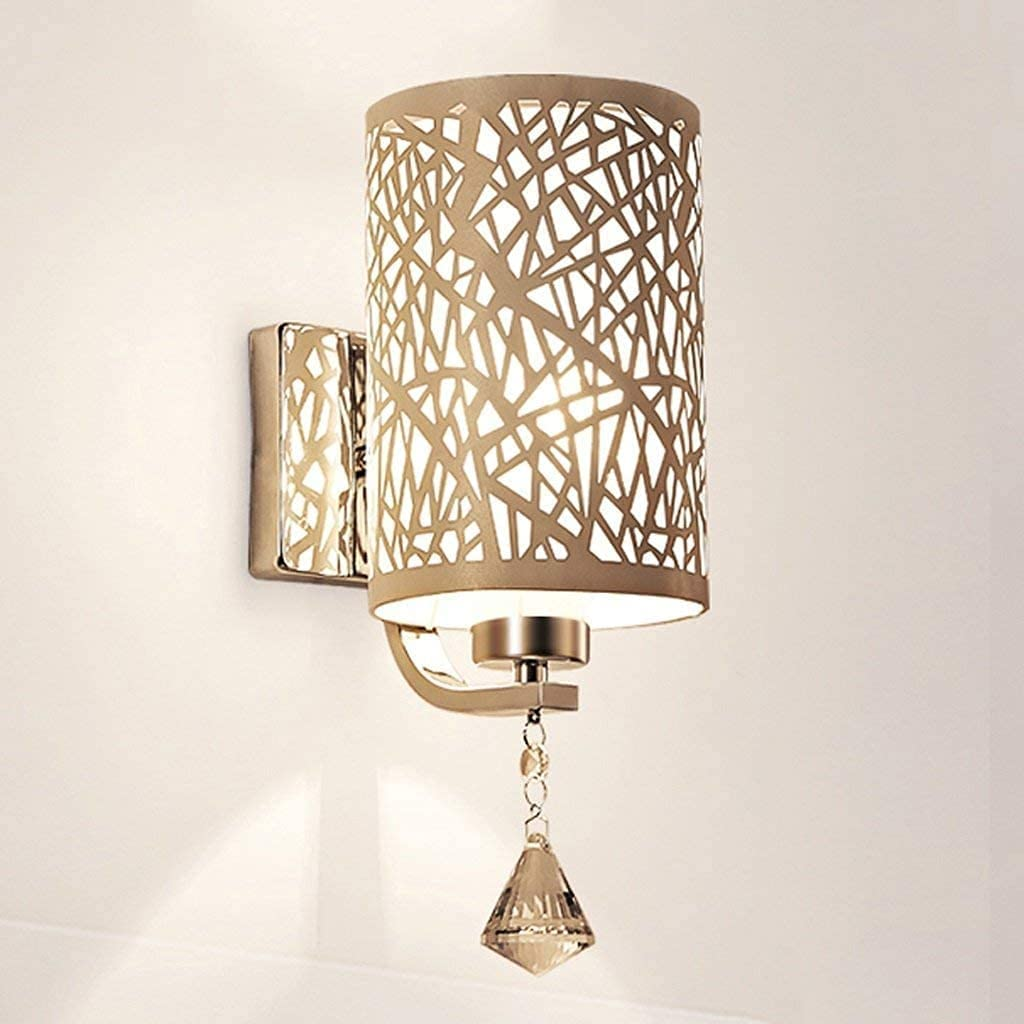 Simple And Cool Wall Lamp Animer and price revision Fashion Table Wrought Iron Lamps Crystal