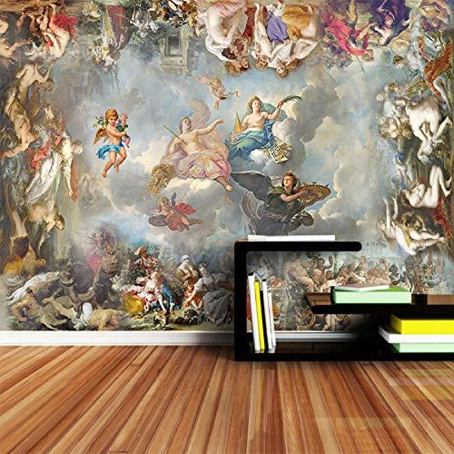 3D fototapete Europäischen Engel Kunst Große Wandmalerei Schlafzimmer Wohnzimmer Sofa Tv hintergrundbild tapete 300x210 cm