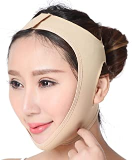 Foonee Face Slimming Band, Breathable V Line Lifting Tape Physical, Double Chin Reducer for Facial Firming Treatment, Face Massage Tool (5 Size Optional)