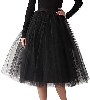 Women Dresses, 2019 Women's A Line Short Knee Length Tutu Tulle Prom Party Wedding Skirt