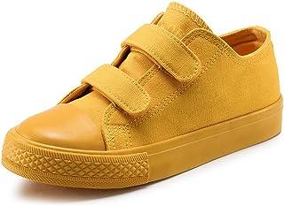 Maxu Canvas Kid Sneaker Hook and Loop Loafers
