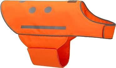 SPOT THE DOG! Easy Fastening Dog Vest, High Visibility Orange, Reflective, Sizes XS-XXL