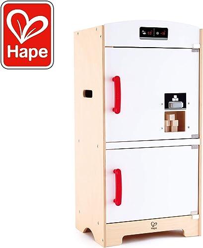 Hape e3153 – Spiel Synthetische Holz – Küche – Kühlschrank, Weiß