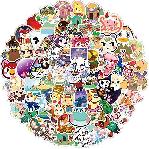 DSSJ 150 Piezas Animal Crossing Friends Association Dibujos Animados Graffiti Pegatinas Equipaje Personalizado portátil Pegatina Decorativa Pegatinas