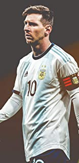 VVWV Mishika The God Lionel Messi Posters for Wall Large Room Motivational Room Decoration L X H 30.48 X 45.72 Pack of 2