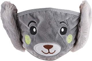 MARUIKAO フェイスカバー 耳カバー マスク イヤーマフ 耳あて 一体型 子供 防寒 防風邪対策 秋冬用
