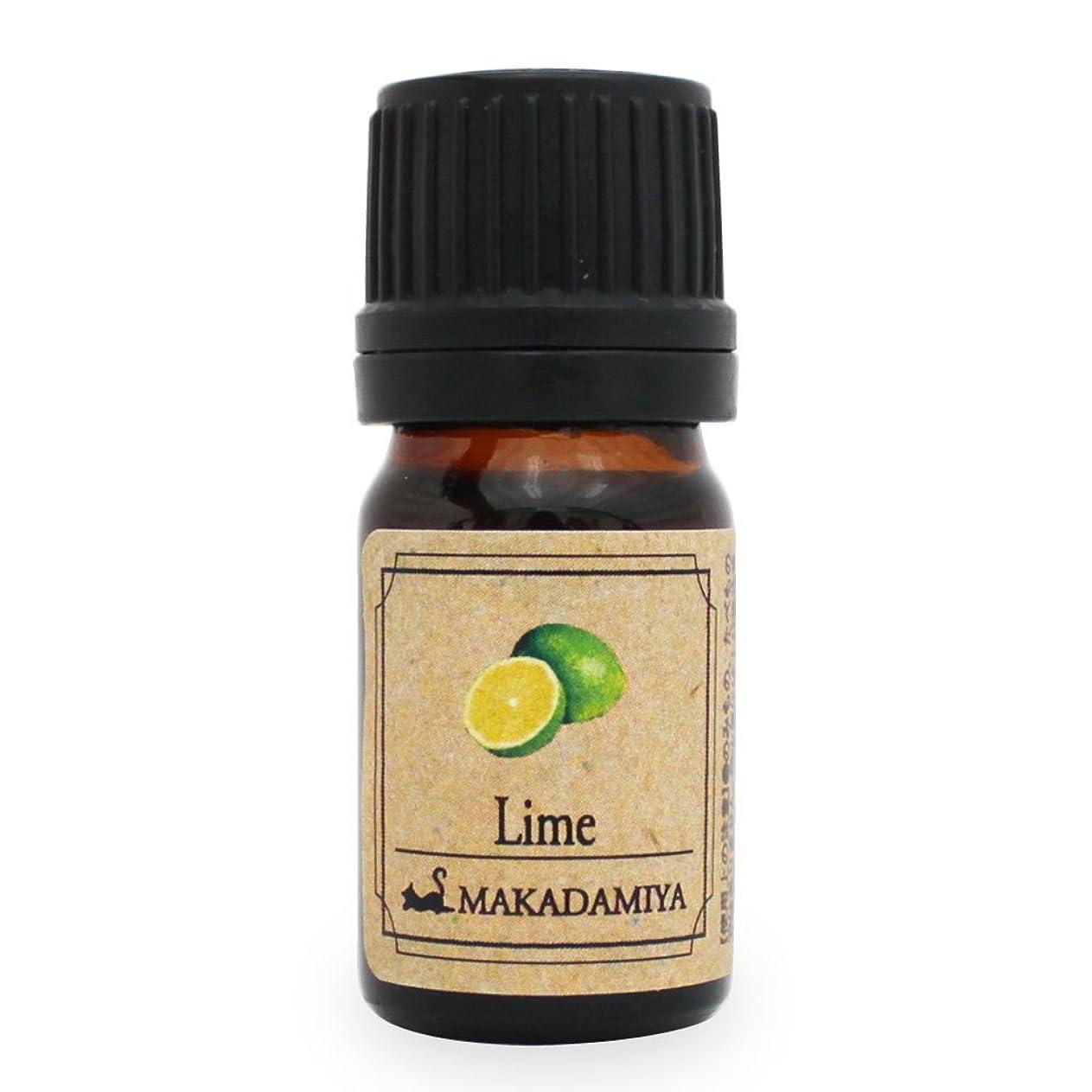 一時停止ルビー吹きさらしライム5ml 天然100%植物性 エッセンシャルオイル(精油) アロマオイル アロママッサージ aroma Lime