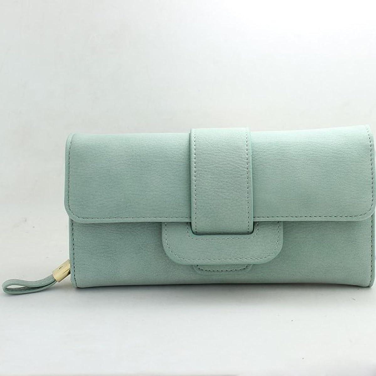 Creazy Lady Women Bifold Purse Clutch Wallet Small Bag Card Holder Quality Handbag (Green)