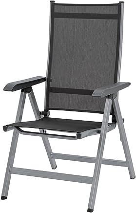 Kettler 克特勒 Basic Plus 折叠椅 Silber/Anthrazit