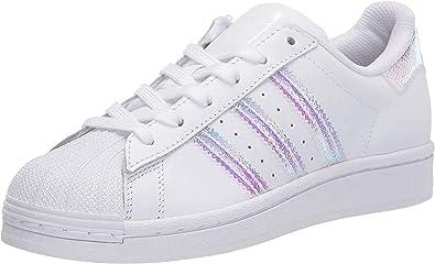 adidas Originals Superstar, Basket Mixte Enfant, Blanc, 40 EU