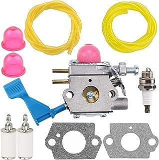 Leopop 530071633 C1U-W13B Carburetor for Poulan GHT180 GHT220 GHT225LE GHT220LE GHT195LE DAHT22 25HHT (HHT25) Trimmer Parts C1U-W13 530071601 Carb Weed Eater Fuel Line Filter Primer Bulb Kit