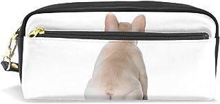 AOMOKI ペンケース ペンポーチ かわいい おしゃれ 化粧ポーチ 小物入り 多機能バッグ 男女兼用 プレゼント ギフト 犬柄 アニマル 可愛い犬