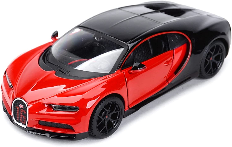 San Diego Mall MAQINA for Bugatti Chiron 1:18 Sports Cast Static Car lowest price Vehicl Die