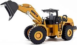 Static Model Engineering Vehicle 1:50 Alloy Front Loader Model, Diecast Loader Metal Model Construction Vehicle Toy