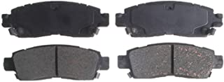 ACDelco 14D883CH Advantage Ceramic Rear Disc Brake Pad Set with Hardware