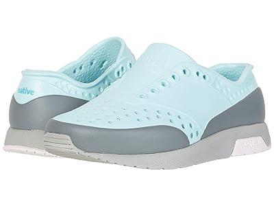 Native Kids Shoes Lennox Block (Little Kid) (Piedmont Blue/Pigeon Grey/Milk Pink/Dublin Block) Girls Shoes