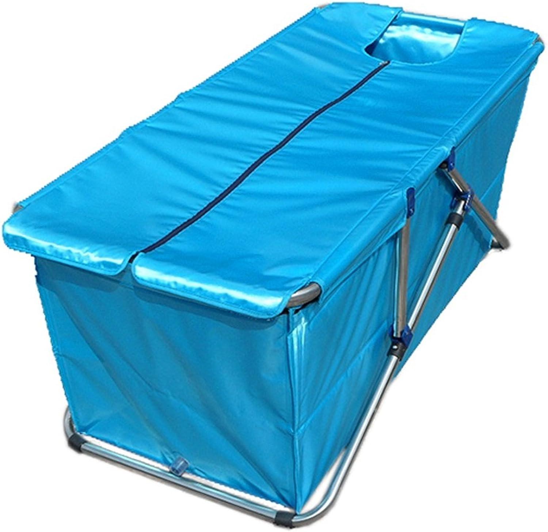 Klapp Badewanne Faltbare Badewanne   Badewanne   Aufblasbare dicke Badewanne für Erwachsene   Babybadewanne Faltbare Badewanne ( Farbe   Blauer himmel )