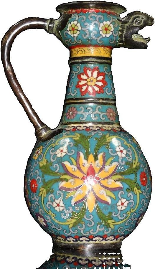 LAOJUNLU Brass Special Campaign Max 74% OFF Cloisonne Pot Colle Ornaments Masterpiece Antique