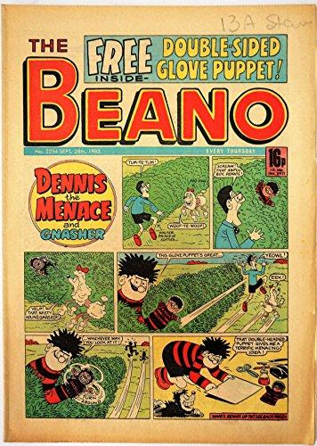 Vintage Rare The Beano Weekly Comic Magazine No. 2254 Boys and Girls Comic...