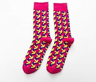 calcetín Calcetines de algodón de Animales flamencos Harajuku Calcetines de monopatín Unisex Lindos para Mujer Calcetines con Estampado de Animales de Moda