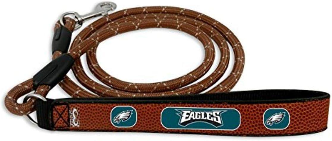 55% OFF NFL Philadelphia Eagles Football Leather Bro Rope Leash 55% OFF Medium