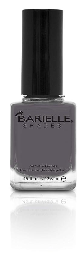 サワー傾向がある過言BARIELLE バリエル ワン シェイド グレー 13.3ml One Shade Of Gray 5258 New York 【正規輸入店】