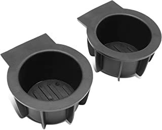 Front Center Floor Console Cup Holder Inserts for Ford F150 Lobo Lincoln Mark LT 04-14