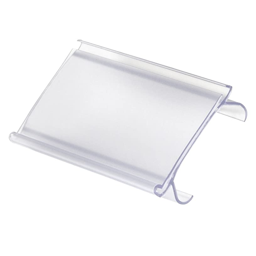 Akro-Mils 29308 Wire Shelving Label Holder - Pack of 25
