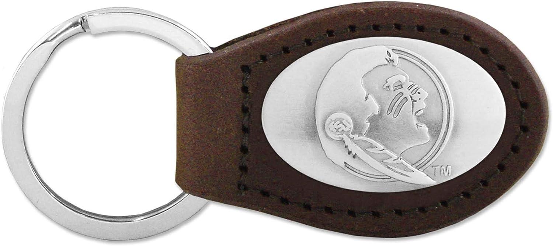 ZEP-PRO NCAA boys Ncaa Fsu Seminoles Zep-pro Childrens Leather Concho Belt Brown