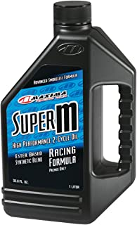 Maxima (20901)Super M 2-Stroke Premix Oil - 1 Liter Bottle