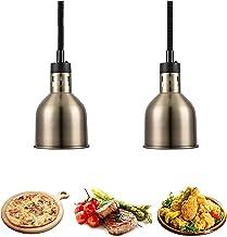 sahadsbv Lampe chauffante Suspendue, Lampe Chauffe-Plats pour Buffet, Lampe Chauffe-Plats Commerciale 250W Longueur 75-165...