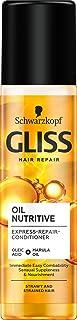 Gliss Oil Nutritive Ekspresowa Odżywka Do Włosów Regenerująca 200 ml