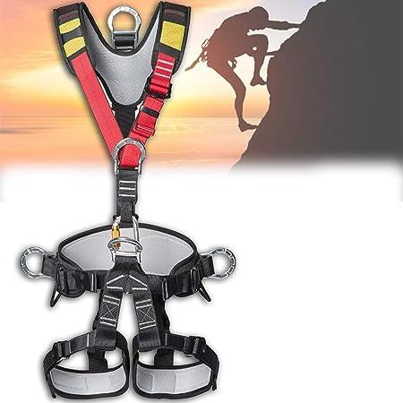 Cinturón de seguridad de montañismo, arnés de escalada de ...