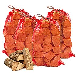 40kg THE CHEMICAL HUT® Quality Seasoned Dried Softwood Logs