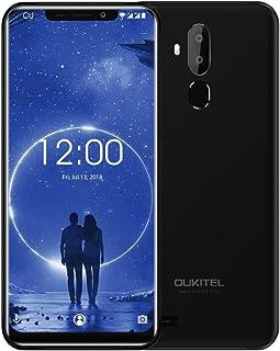 OUKITEL C12، 2GB+16GB، كاميرات خلفية مزدوجة، التعرف على الوجه بصمة الإصبع، 6.1 بوصة U-notch شاشة أندرويد 8.1 MTK6580 رباعي...
