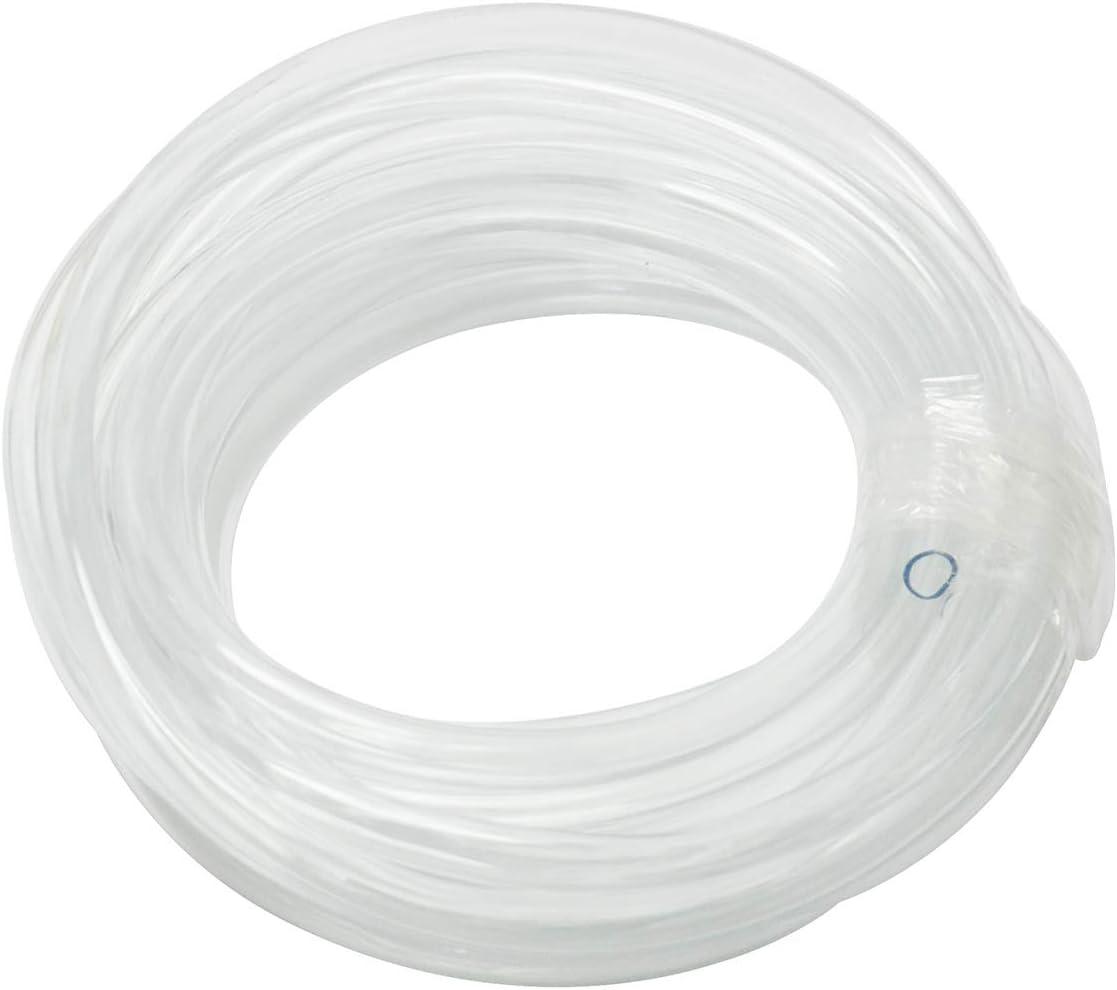 Gikfun 3m Silicone Tube 2mm ID x 4mm OD Flexible Silicone Rubber Tubing Water Air Hose Pipe Transparent for DIY Peristaltic Pump Transfer EK1962