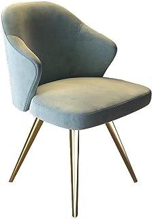 Sillón Silla de Comedor 2 sillas Luz de restauración Silla sillas Tea Shop Cafetería heces Moderna Minimalista Vuelve a la Portada de Cocina Silla Taburete