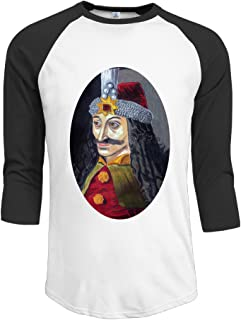 Men's Raglan Baseball Tee Shirt Vlad The Impaler