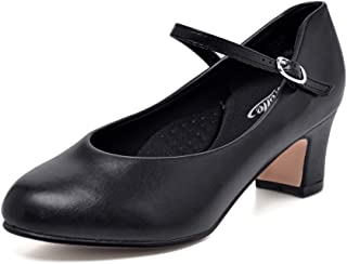Stelle 2' Character Dance Shoe (Women/Big Kid)(Tan, 6M