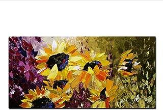 NR moderno abstracto HD impresión flor Van Gogh girasol lienzo pintura pared imagen arte cartel para decoración de sala de estar 50x100cmx1 sin marco