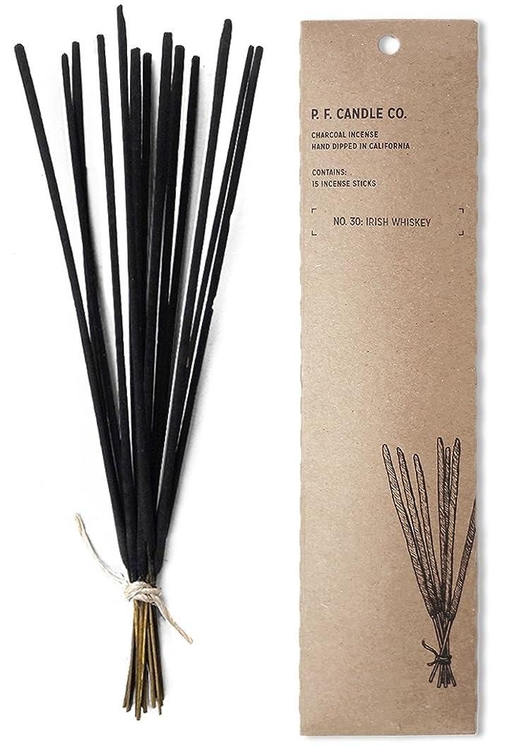 平和内陸明確にp.f. Candle Co。No。30?: Irish Whiskey Incense (2?- Pack)