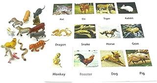 MEROCO Montessori Animal Match Cards (Zodiac)