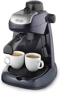 comprar comparacion De'longhi EC7 - Cafetera hidropresión, 800 w, variedad cafés, 2 tazas, tapa seguridad, sistema capuccino, negro y plata