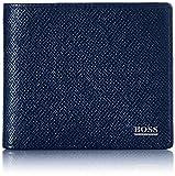 BOSS Herren Signature_8 cc Reisezubehör-Brieftasche, Dark Blue401, ONESI